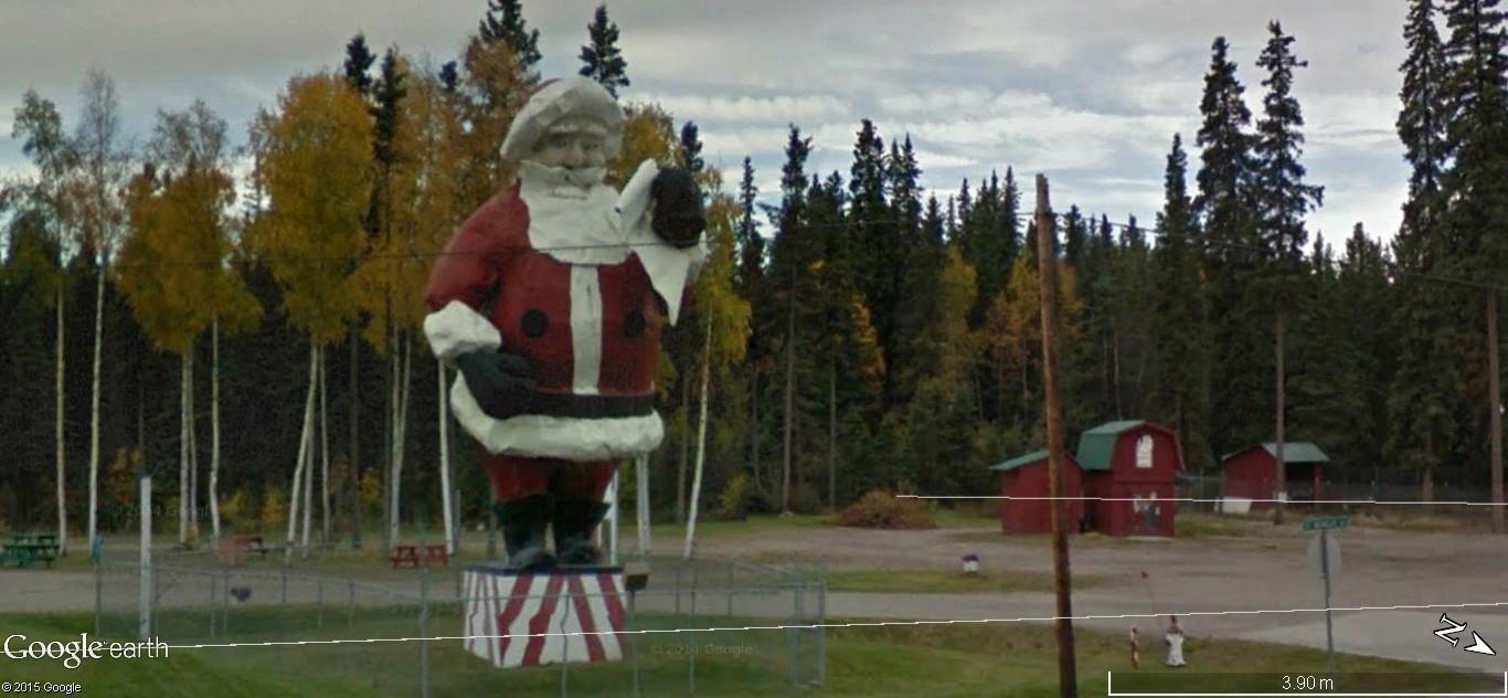 La maison du père Noel, Pôle Nord, Alaska - Etats Unis d'Amérique. 148