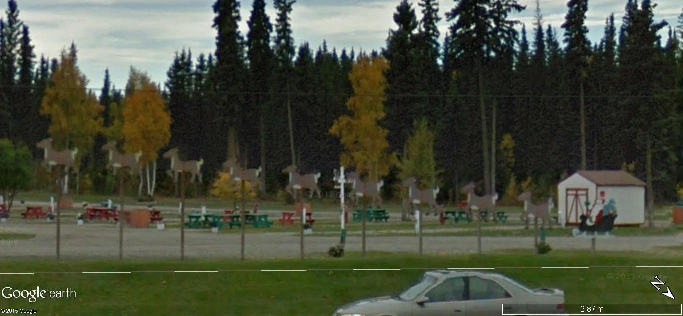 La maison du père Noel, Pôle Nord, Alaska - Etats Unis d'Amérique. 149