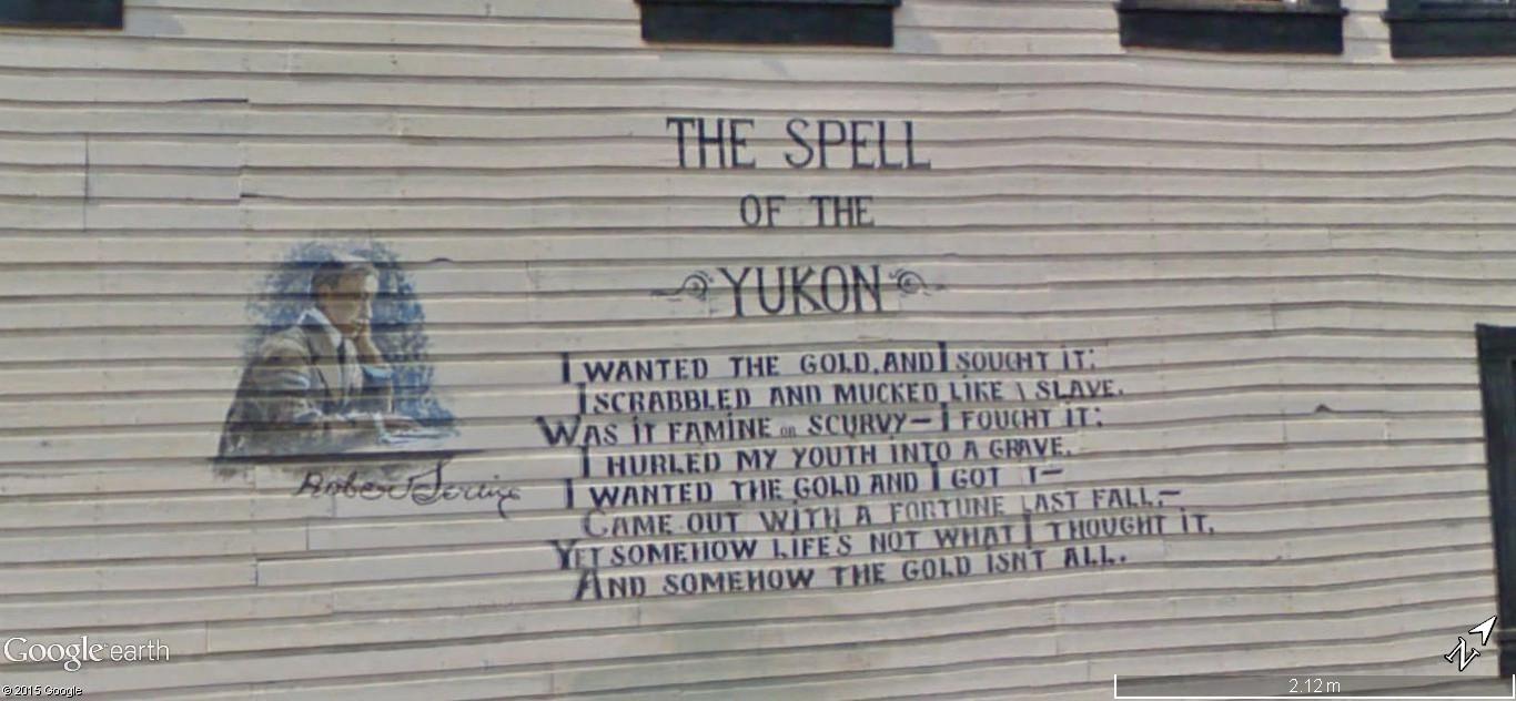 Dawson City, ville témoin de la ruée vers l'or du Klondike. 154