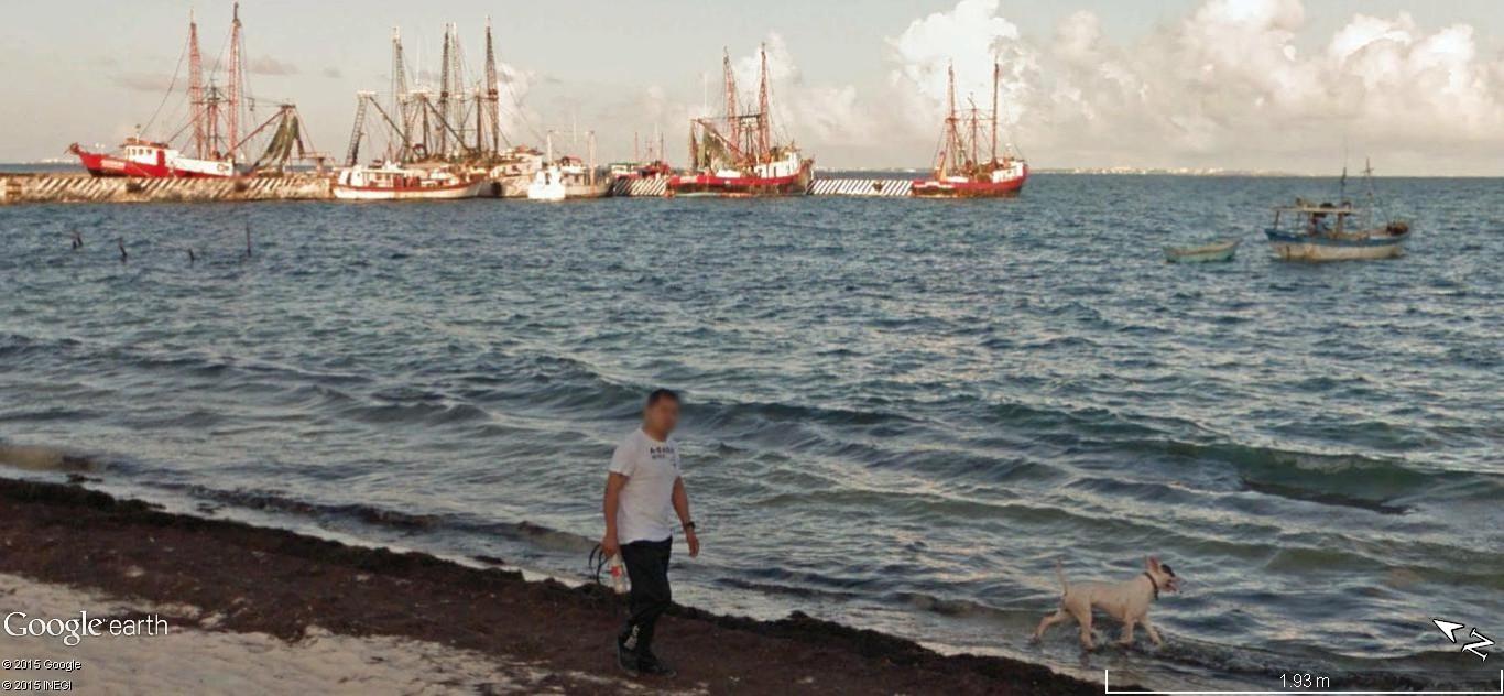STREET VIEW: Vamos a la playa. Cancun, Mexique  312