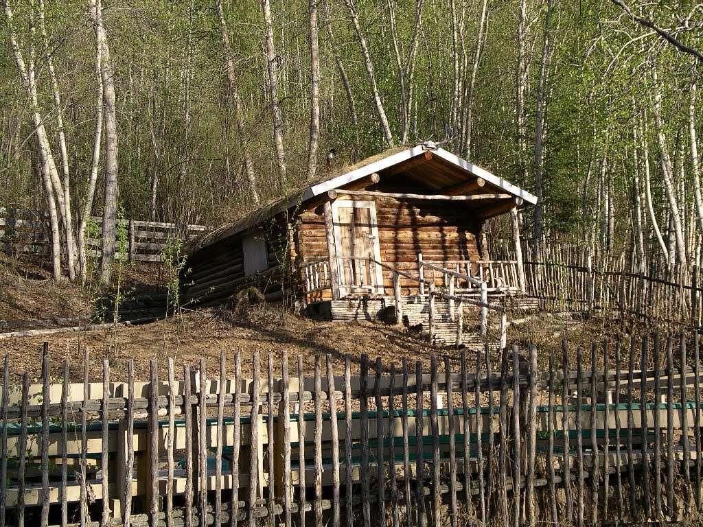 Dawson City, ville témoin de la ruée vers l'or du Klondike. 45952410