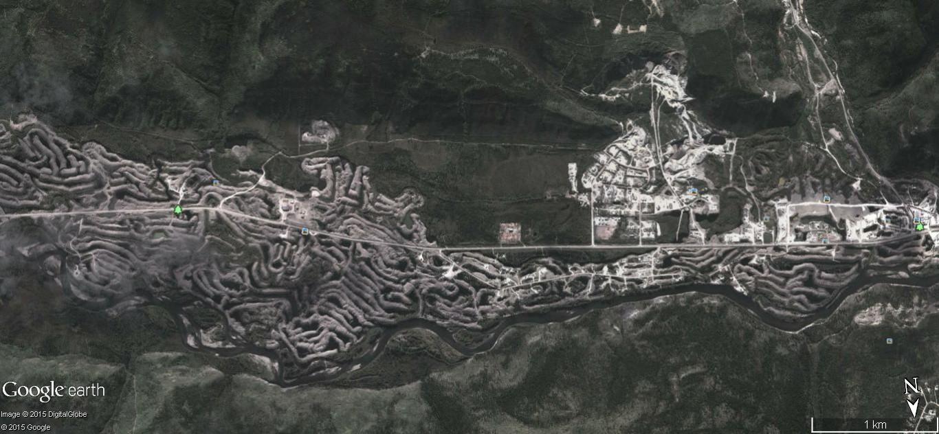 Dawson City, ville témoin de la ruée vers l'or du Klondike. 55