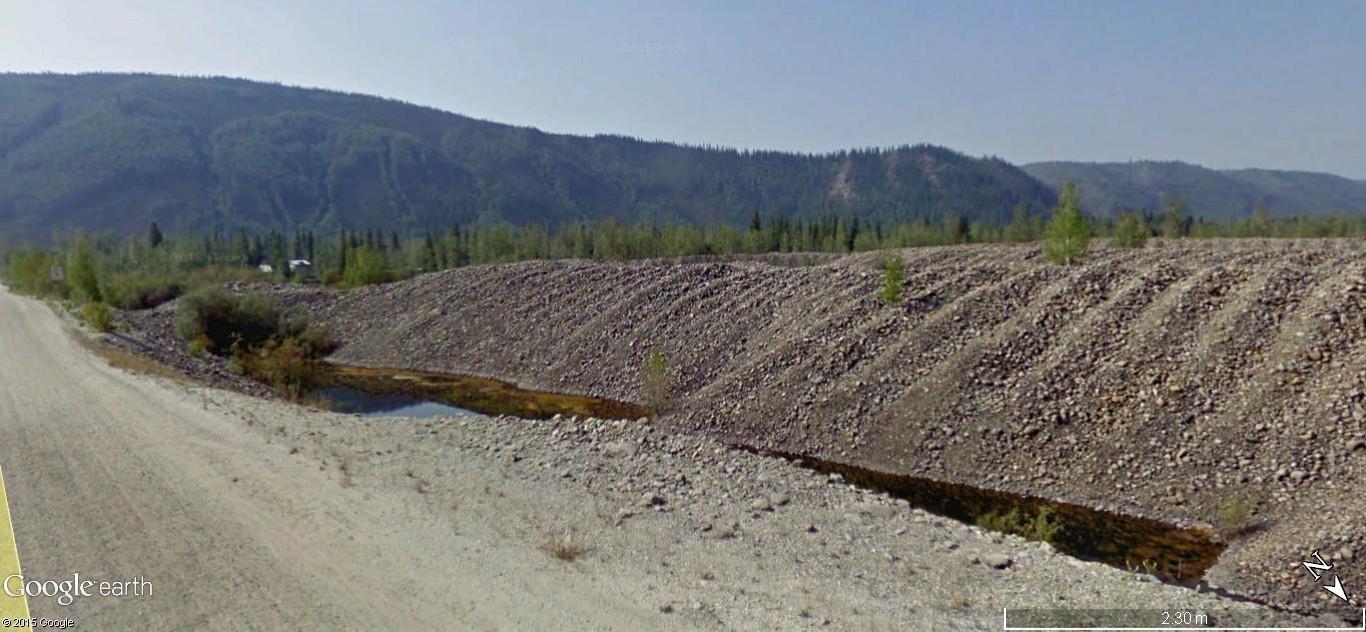 Dawson City, ville témoin de la ruée vers l'or du Klondike. 57