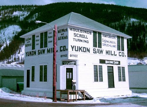 Dawson City, ville témoin de la ruée vers l'or du Klondike. 59