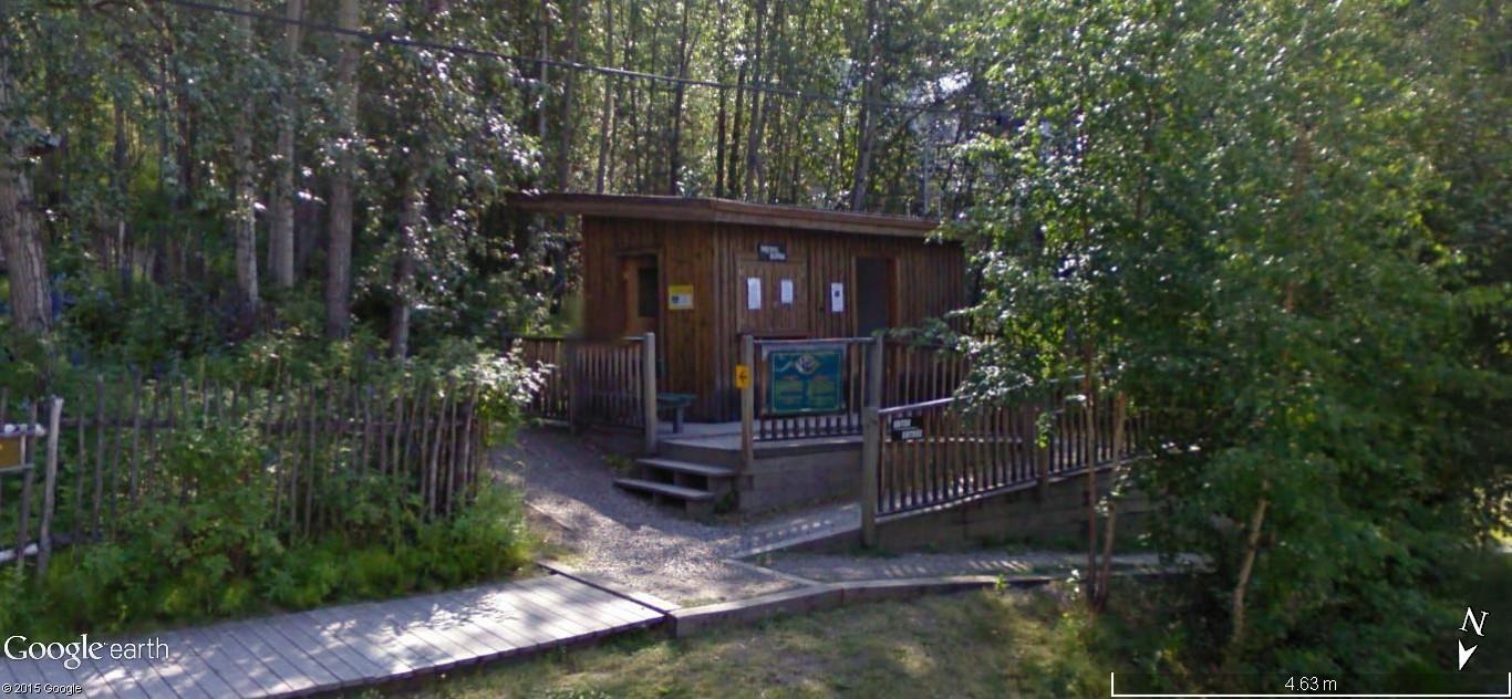 Dawson City, ville témoin de la ruée vers l'or du Klondike. 84