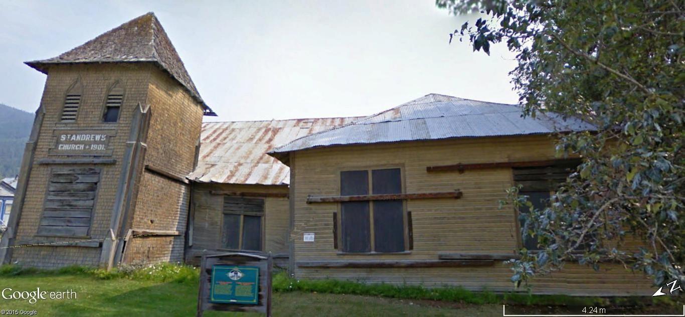 Dawson City, ville témoin de la ruée vers l'or du Klondike. 86