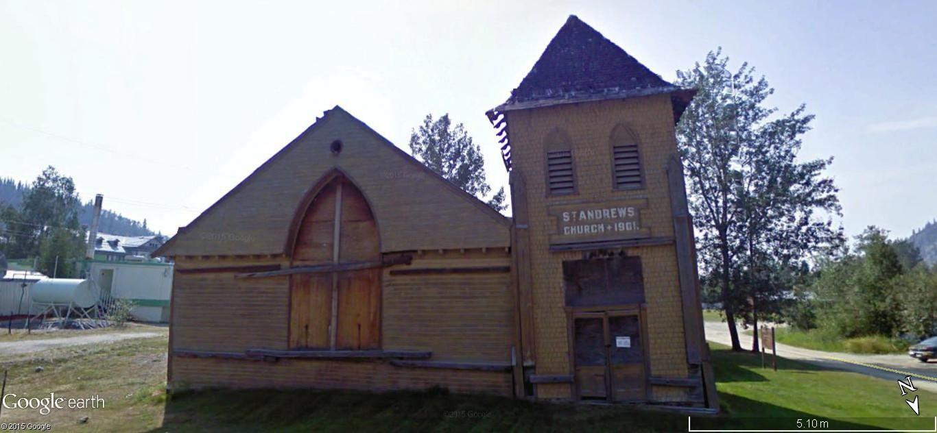 Dawson City, ville témoin de la ruée vers l'or du Klondike. 87