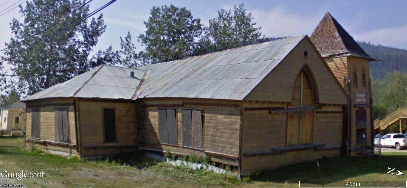 Dawson City, ville témoin de la ruée vers l'or du Klondike. 88