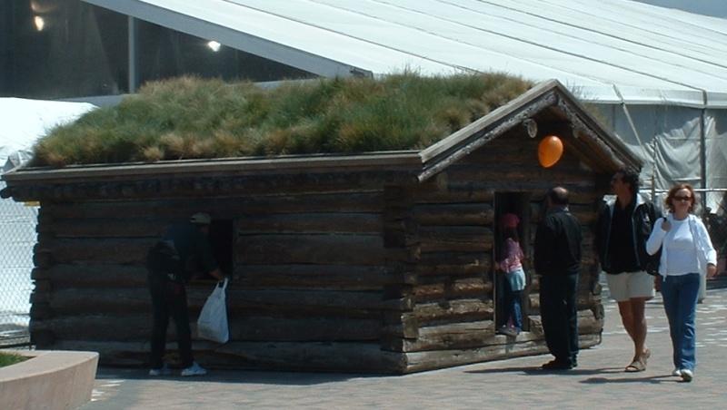 Dawson City, ville témoin de la ruée vers l'or du Klondike. Jlhut10