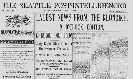Dawson City, ville témoin de la ruée vers l'or du Klondike. Pihead10