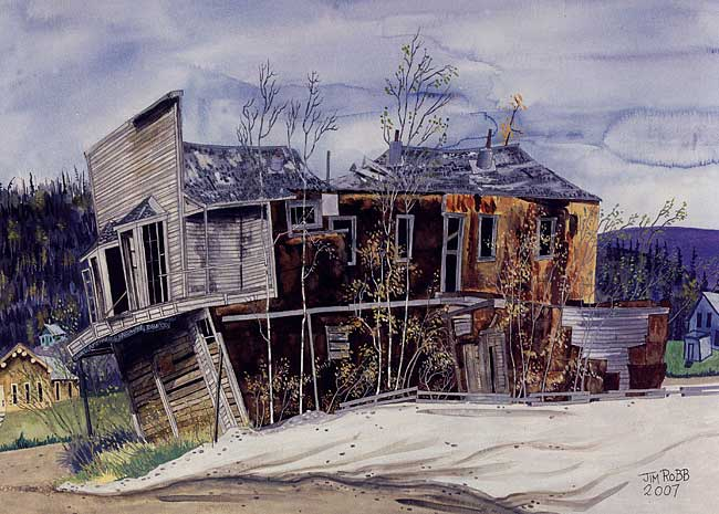 Dawson City, ville témoin de la ruée vers l'or du Klondike. - Page 4 Robb10