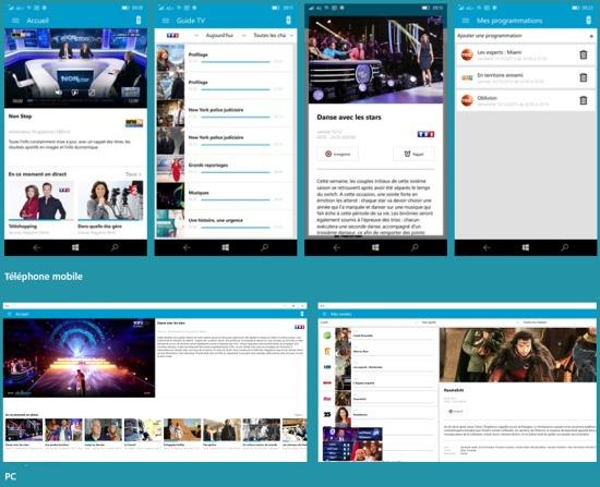 B.tv 2.0.0 en application universelle Windows 10 est disponible Btv10