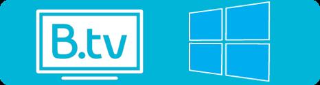 B.tv 2.0.0 en application universelle Windows 10 est disponible News2327