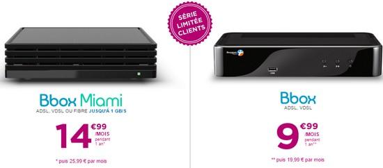 L'offre Bbox xDSL ou Fibre proposée à partir de 9,99€ pour ses clients Offre_10