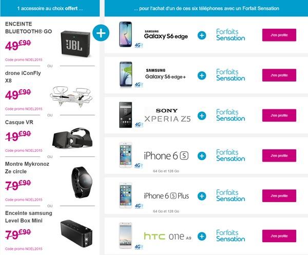 Bouygues Telecom offre un accessoire pour l'achat d'une sélection de mobile Promon10
