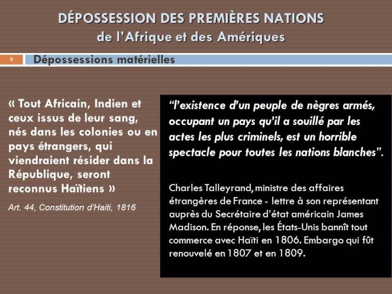 REPOSSESSION: AYITI & CANADA  Deposs10