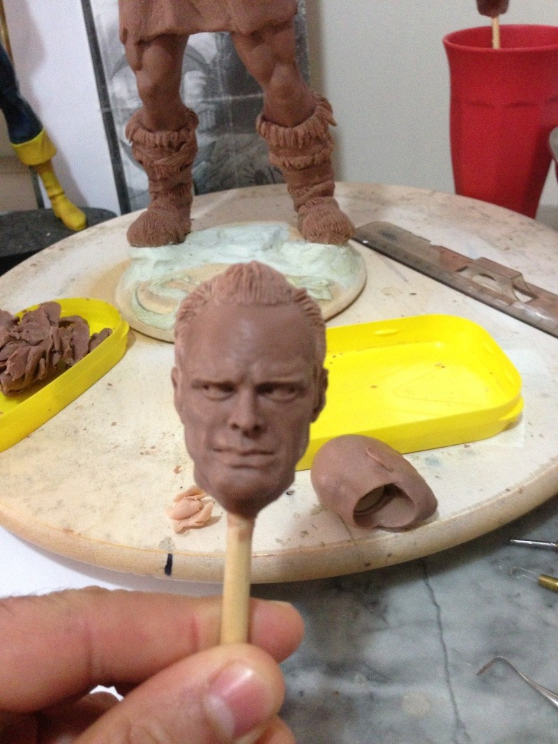têtes 1/6 en monster clay ... 15011610