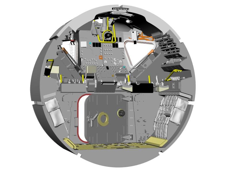 Module lunaire au 1/32 - Page 2 Interi10