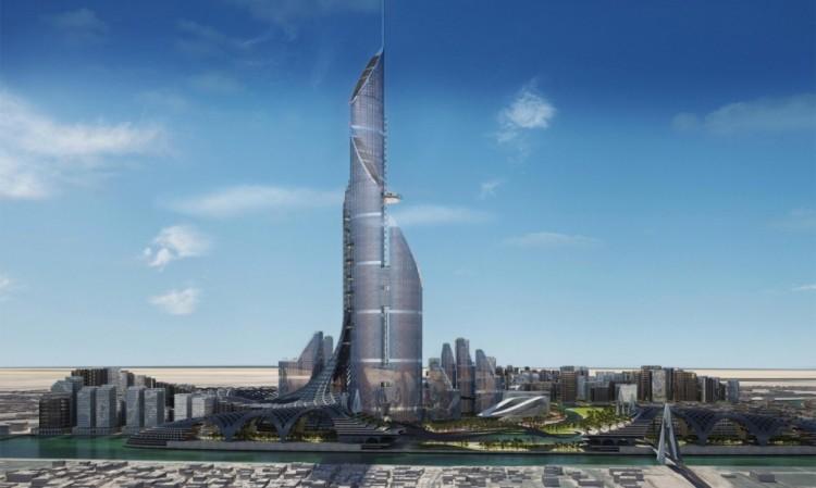 عروس العراق: أعلى من برج دبي ولا تحتاج إلا طاقة الشمس لإدارتها بالكامل! The-br10