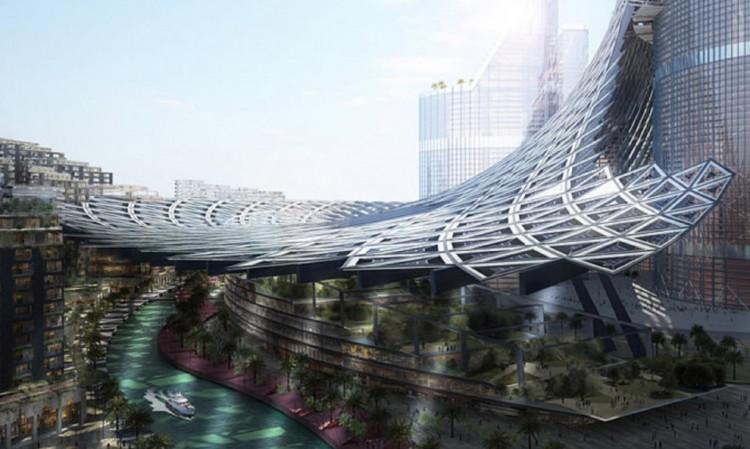 عروس العراق: أعلى من برج دبي ولا تحتاج إلا طاقة الشمس لإدارتها بالكامل! The-br13