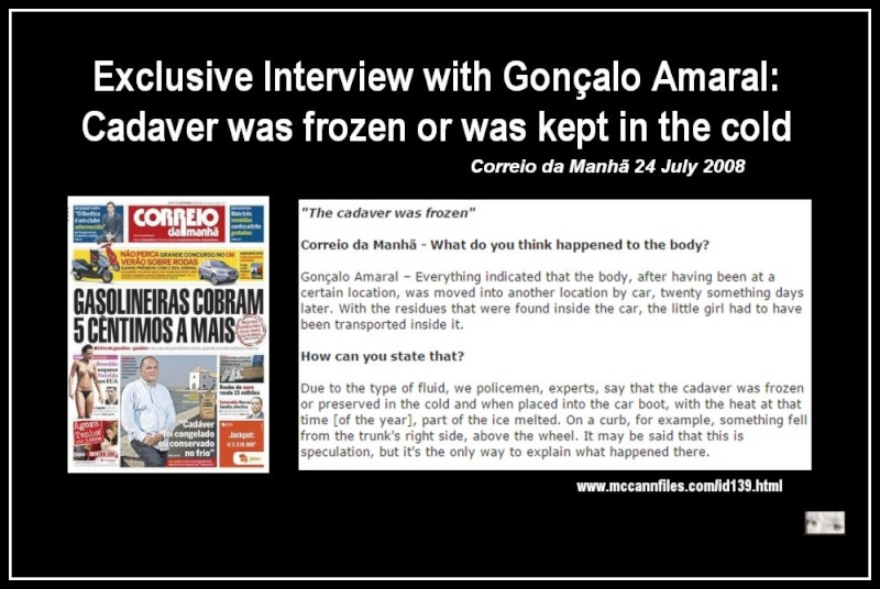 John Lowe tells us there was a MATCH to Maddie in the car & more about DNA & FORENSICS  - Page 5 Cadave10