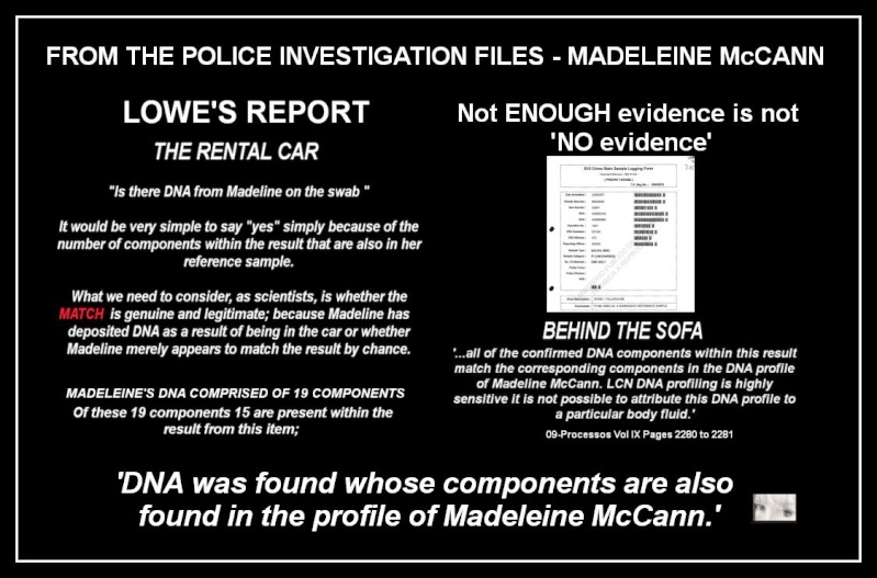 John Lowe tells us there was a MATCH to Maddie in the car & more about DNA & FORENSICS  - Page 3 Dna10
