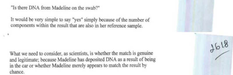 John Lowe tells us there was a MATCH to Maddie in the car & more about DNA & FORENSICS  - Page 5 Dna_ma10