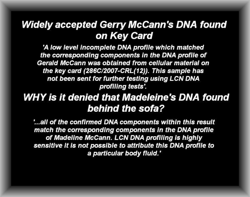 John Lowe tells us there was a MATCH to Maddie in the car & more about DNA & FORENSICS  - Page 3 Gerry_10