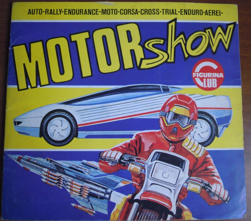 VENDO VARI ALBUM DI FIGURINE ANNI '80 Motors10