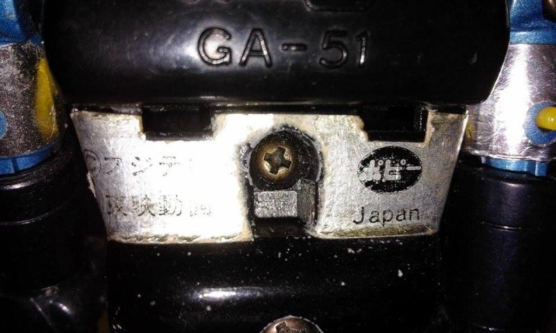 GAIKING GA-51 TESCHIO GIALLO Gaikin12
