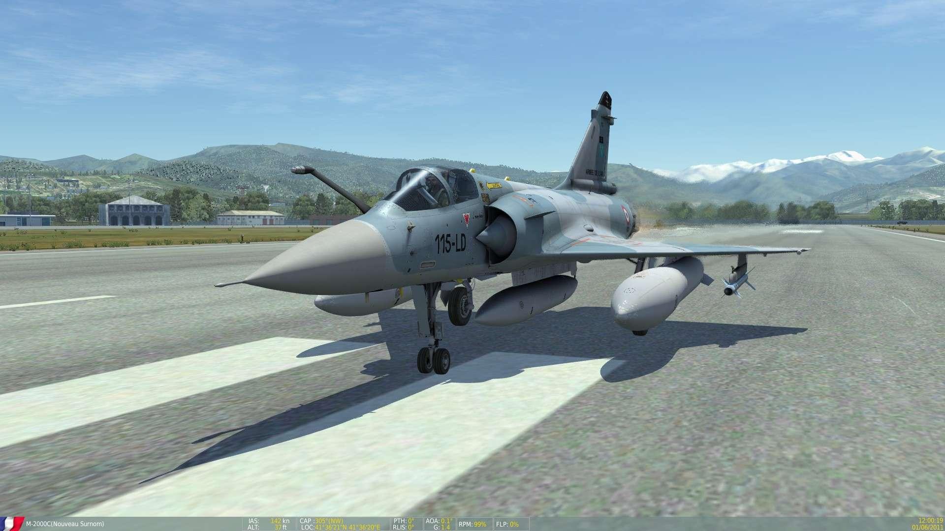 DCS/FSX/P3D : Mirage 2000 C Screen10