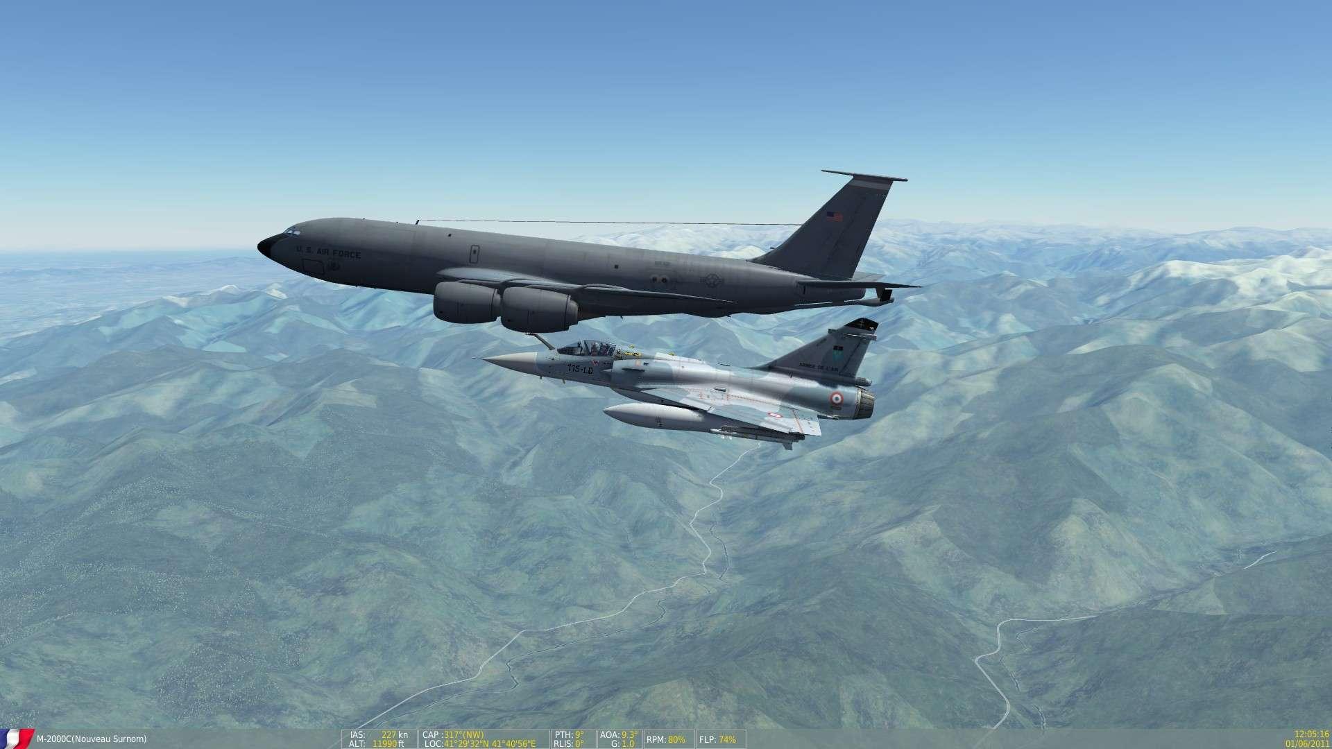 DCS/FSX/P3D : Mirage 2000 C Screen11