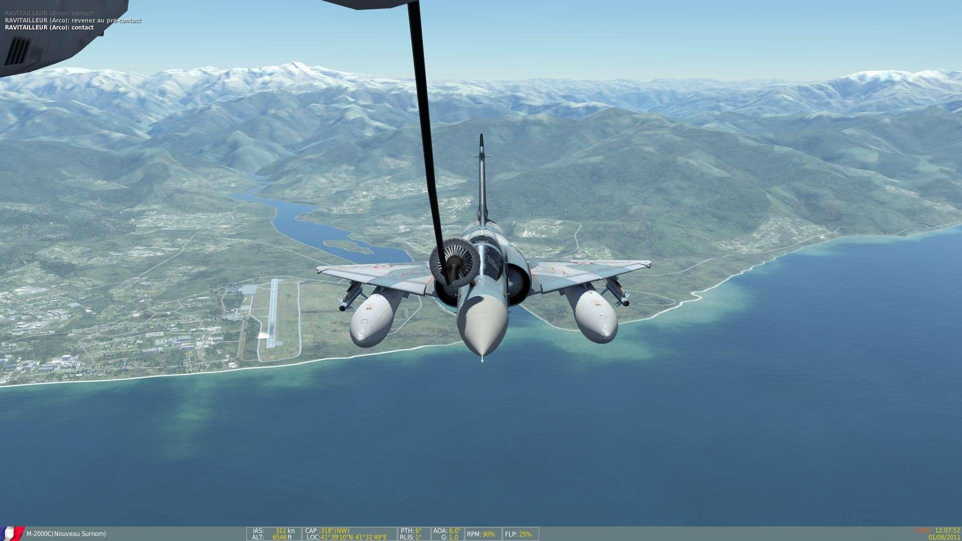 DCS/FSX/P3D : Mirage 2000 C Screen12