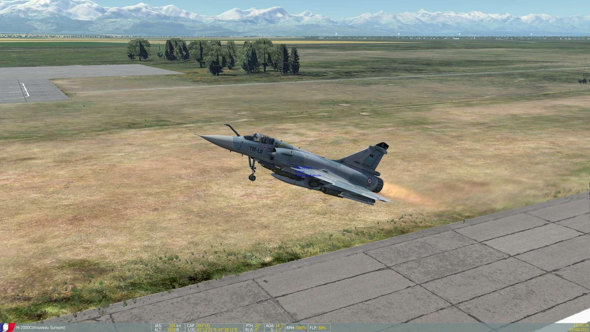 DCS/FSX/P3D : Mirage 2000 C Screen15