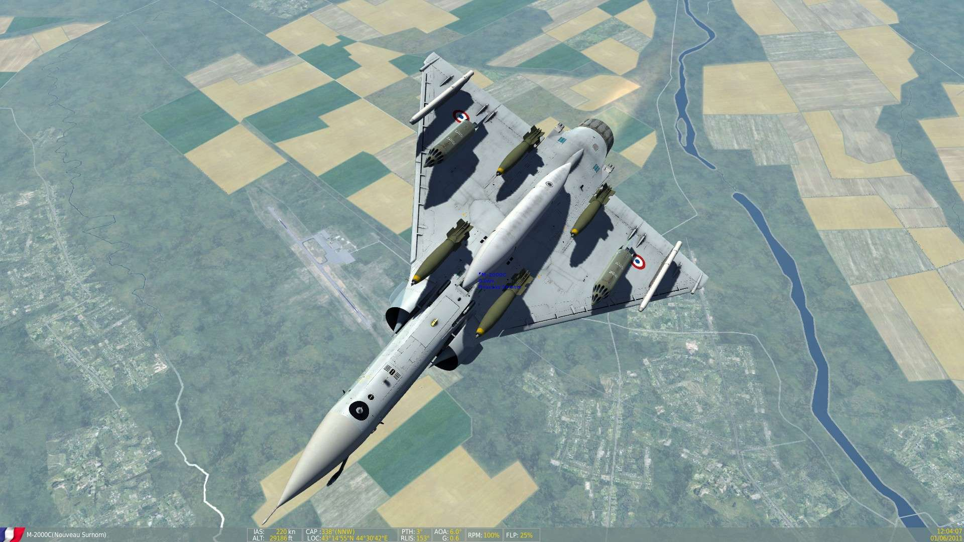 DCS/FSX/P3D : Mirage 2000 C Screen16