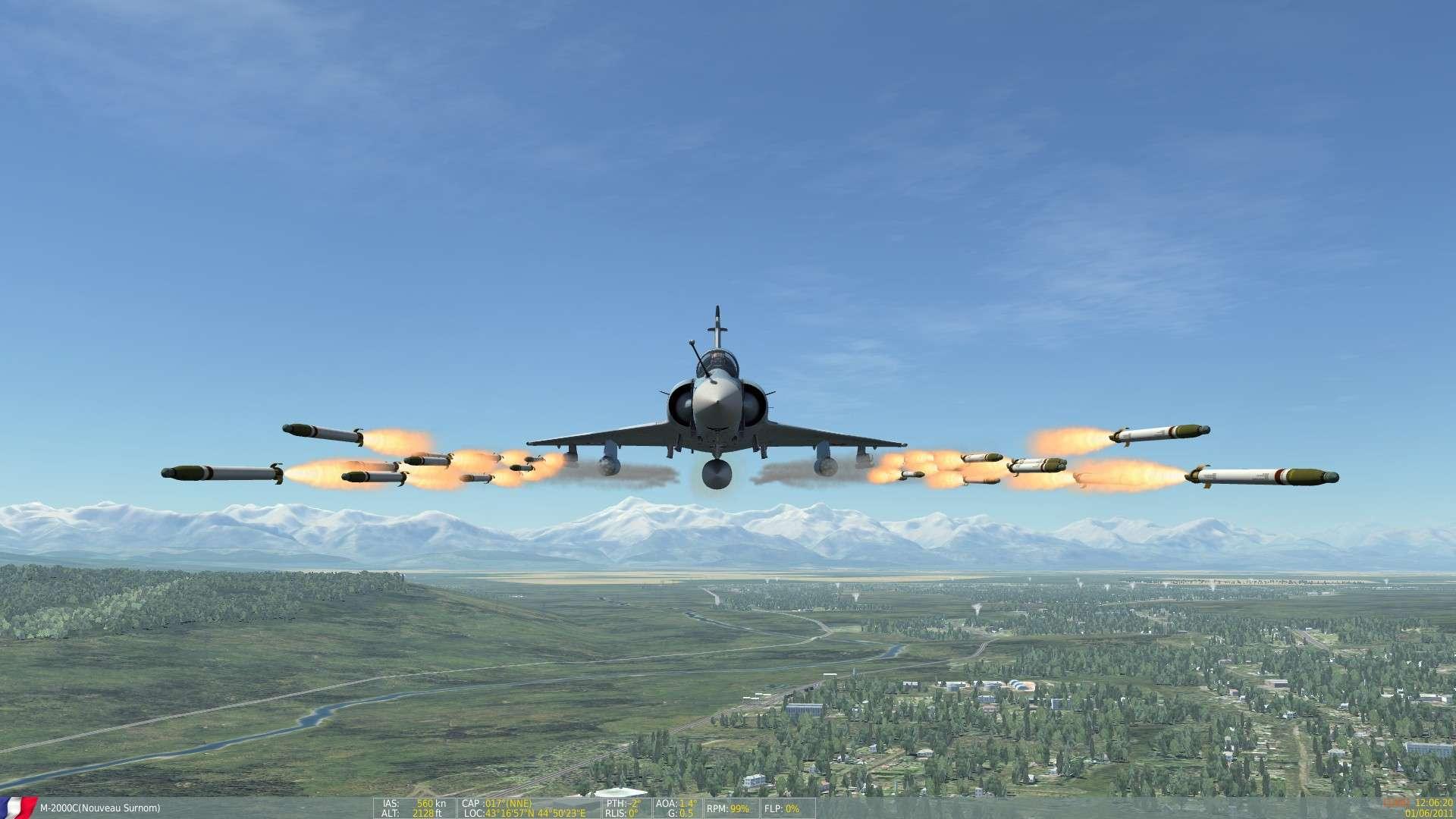 DCS/FSX/P3D : Mirage 2000 C Screen17