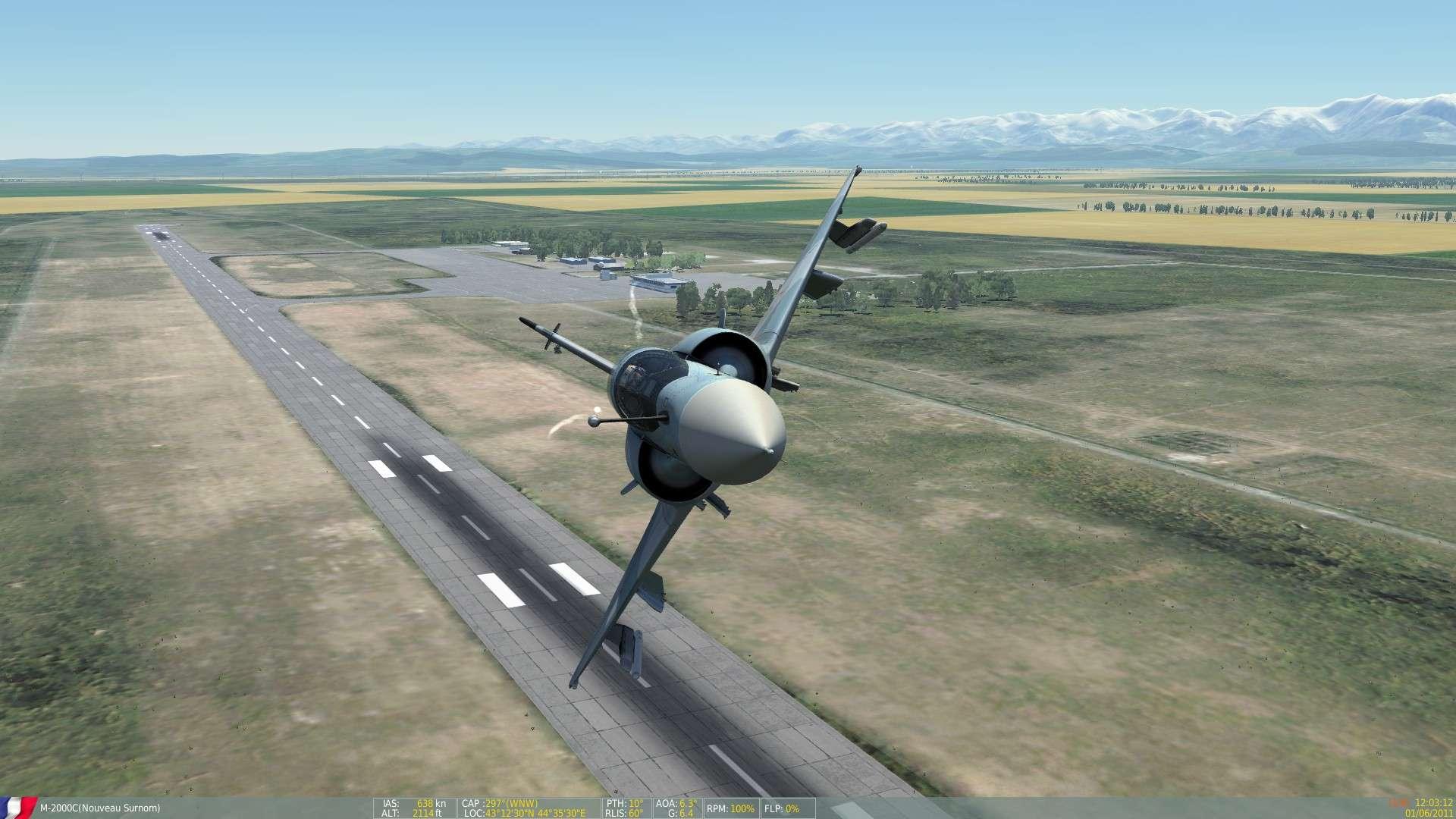 DCS/FSX/P3D : Mirage 2000 C Screen18