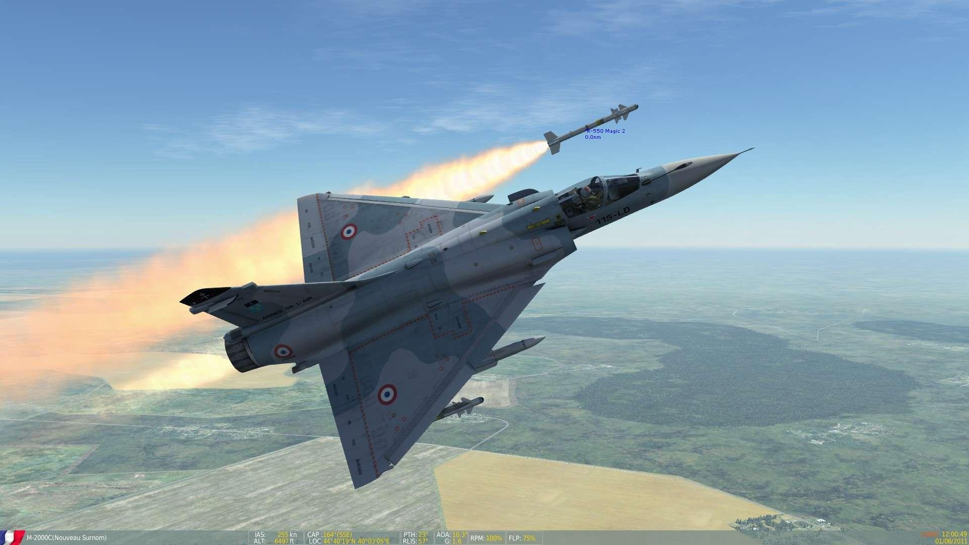 DCS/FSX/P3D : Mirage 2000 C Screen19