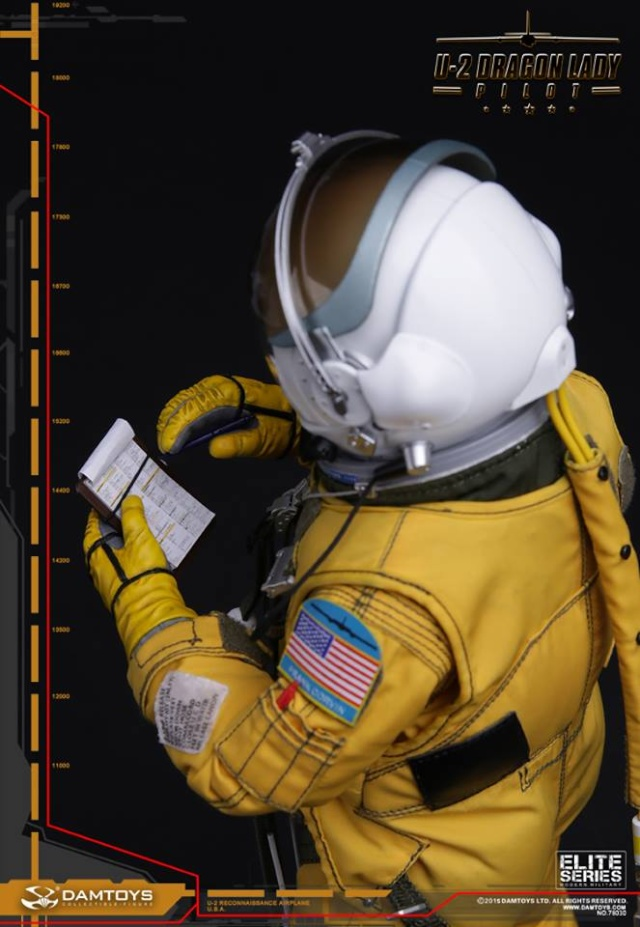 PILOTE U2 - 1/6 - DAMTOYS 12345510