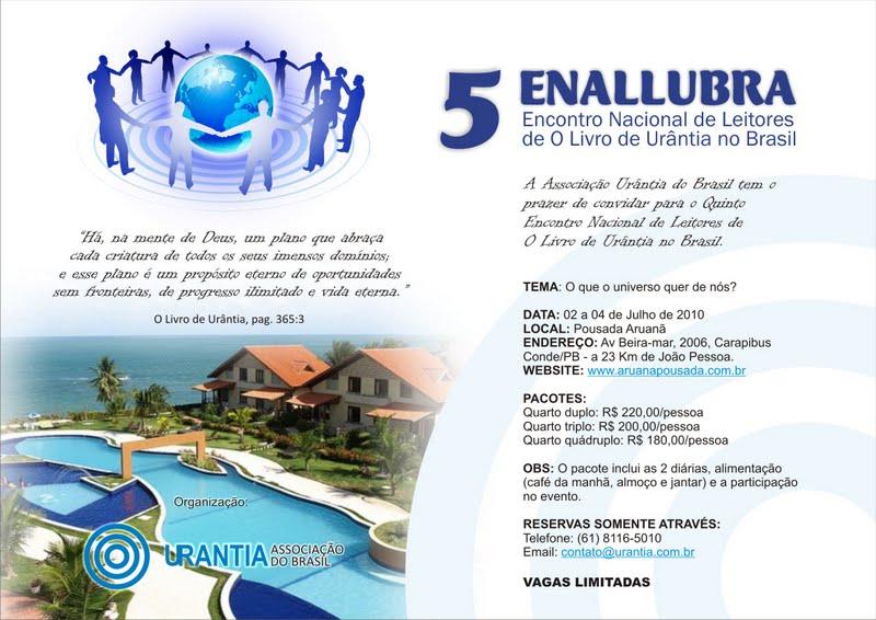 Encontro de Leitores de O Livro de Urântia do Brasil Convit10
