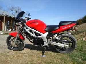 2000 SUZUKI SV650 FOR SALE Sv-lef10