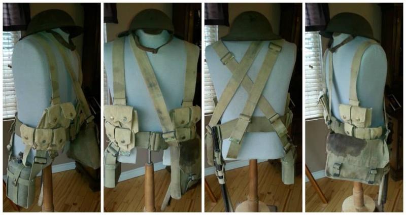 Première Guerre Mondial, uniforme Militaire Canadien. 12190810