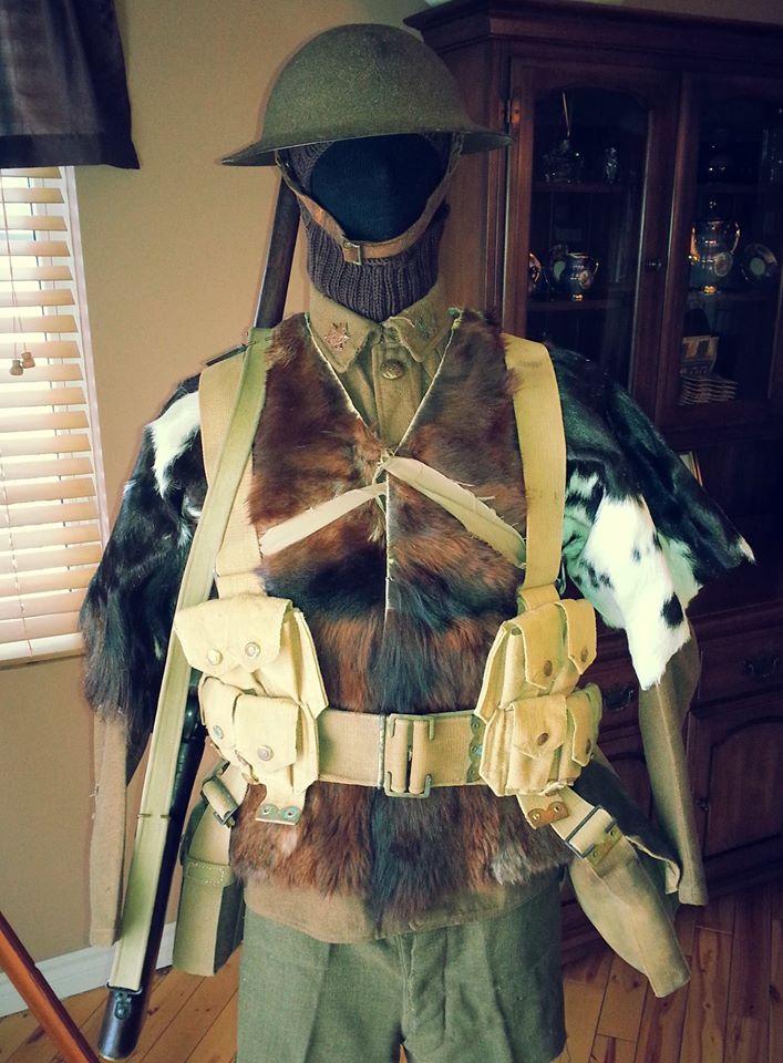 Première Guerre Mondial, uniforme Militaire Canadien. 12402010