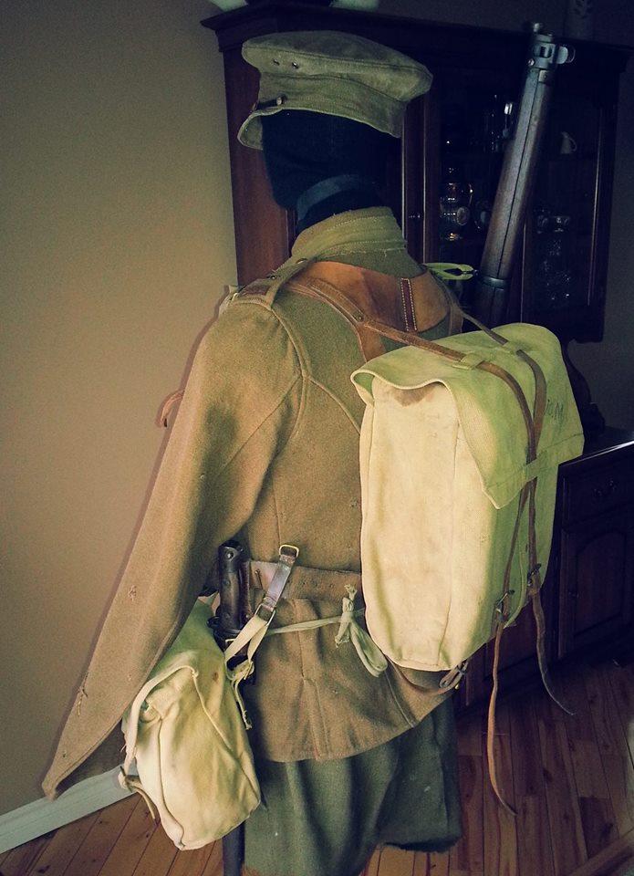 Première Guerre Mondial, Tunique Militaire Canadien.  88664610