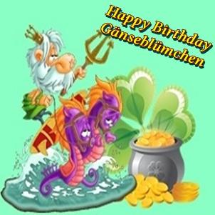 Happy Birthday Gänseblümchen Cats17
