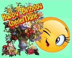 Happy Birthday CherieMarie Cherie10