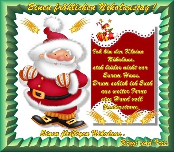Wir wünschen Euch Allen einen schönen 1 - 4. Advent bzw. Nikolaus - Seite 3 Nikola10