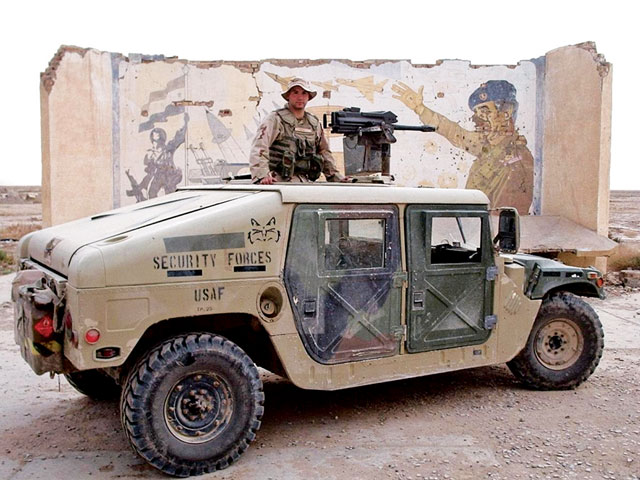M1025 Tamiya Humvee10