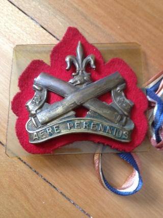 Régiment La Chaudière cap badge Img_0118