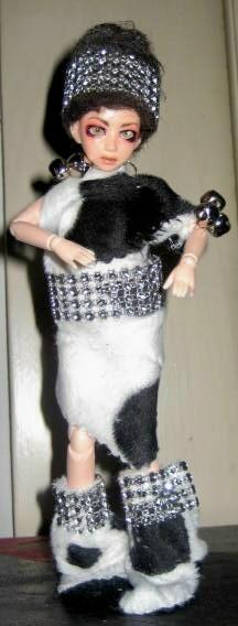 La petit obitsu acheté chez Morgil! Costum10